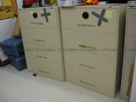 Picture of 2 Four-Drawer Lateral Filing C