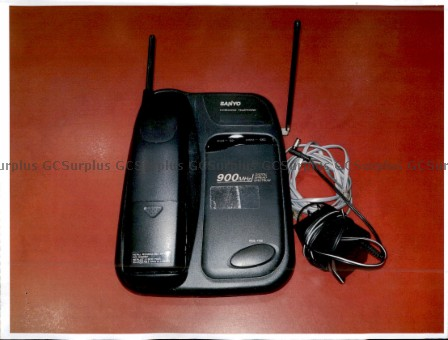 Picture of Sanyo Cordless Telephone