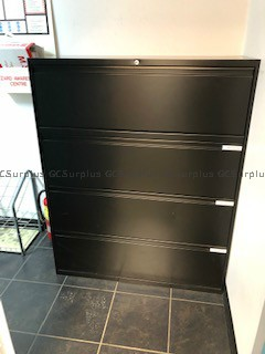 Picture of Various 4-Drawer Filing Cabine