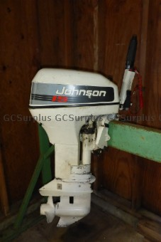 Picture of Johnson 15HP Outboard Motor -