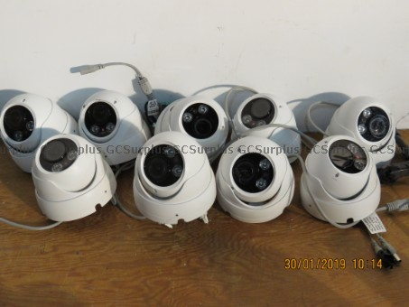 Picture of Lot of Surveillance HD Cameras