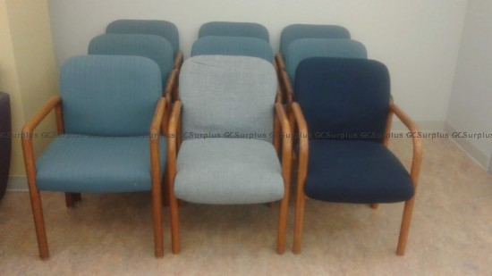 Picture of 9 Assorted Arm Chairs