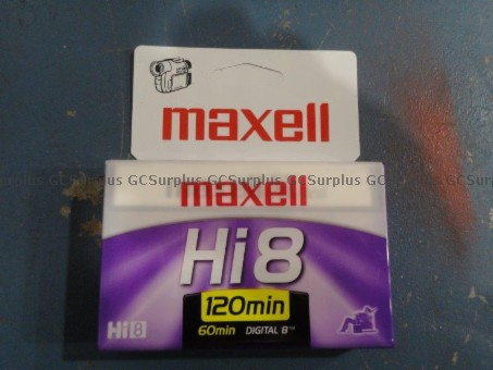 Picture of Maxell 8mm Videotape