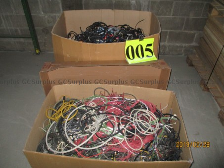 Picture of Various Scrap Cables and Wires