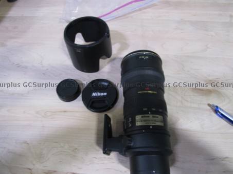 Picture of Nikon ED Camera Lens