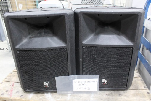 Picture of Electro-Voice SX-A100 Speakers