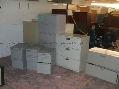 Picture of Assorted Metal Office Cabinets