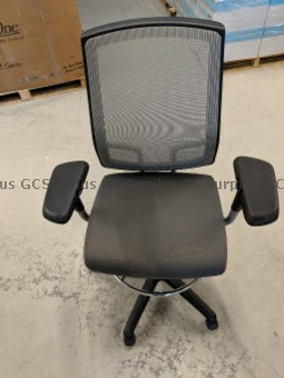 Picture of Grey Stool Chair