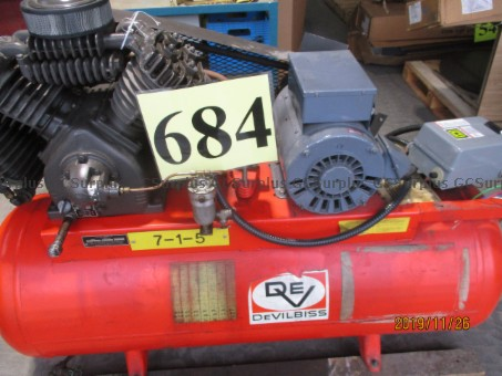Picture of Devilbiss Air Compressor