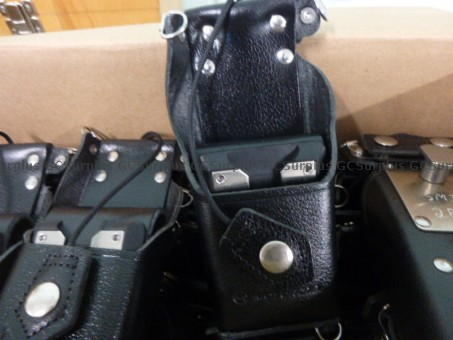 Picture of 25 Leather Radio Holsters Sets