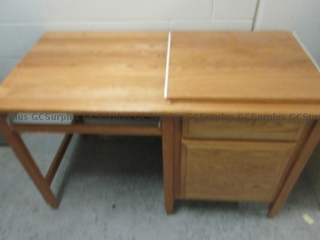 Picture of Wooden Desk
