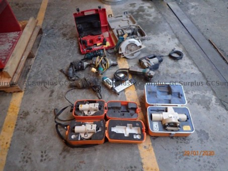 Picture of Assorted Hand & Power Tools -