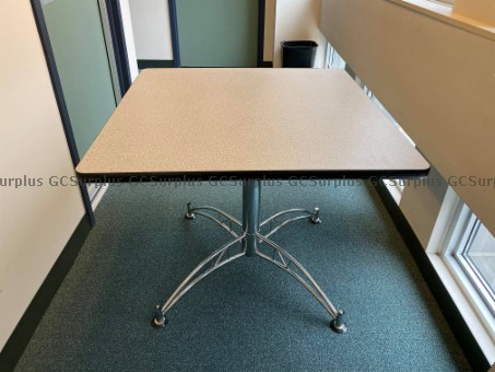 Picture of Square Tables