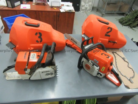 Picture of 2 Chainsaws