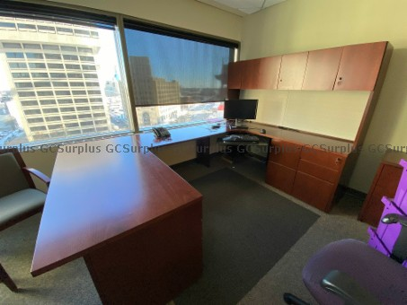 Picture of Executive Desk Suite