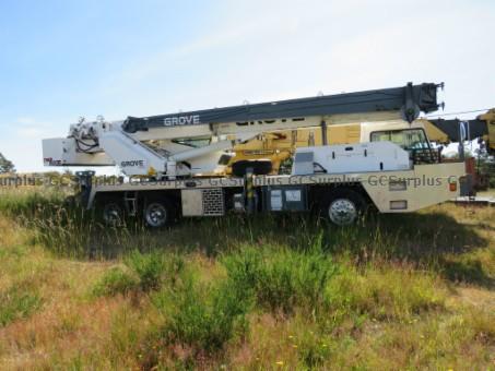 Picture of 2003 Grove TMS 500E Crane Truc