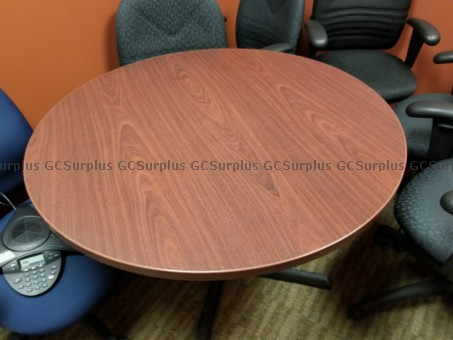 Picture of 3 Round Tables