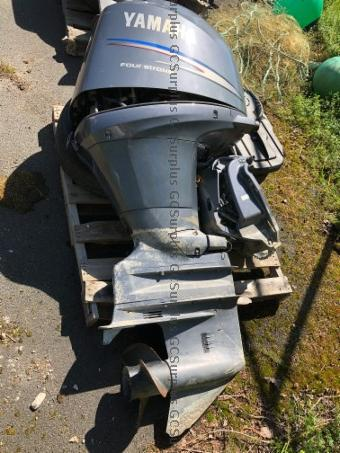 Picture of 150 HP Yamaha Outboard Motor