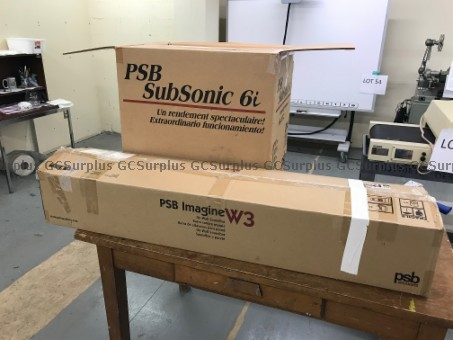 Picture of PSB Sound Bar with Subwoofer