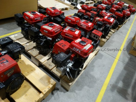 Picture of Lot of Honda Generators