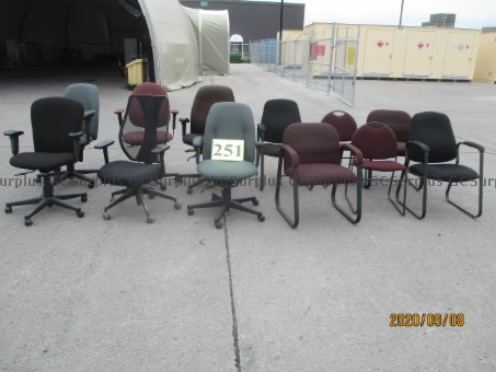 Picture of Lot of 12 Chairs