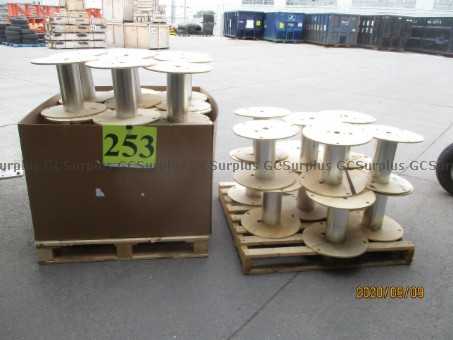 Picture of Lot 37 Empty Cable Spools