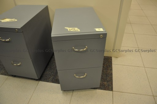 Picture of 30 Grey Pedestal Cabinets