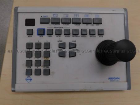 Picture of Panasonic WV-CU161C Control Ke