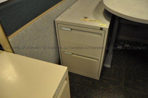 Picture of 23 Assorted Pedestal Cabinets