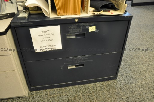 Picture of 18 Lateral Filing Cabinets