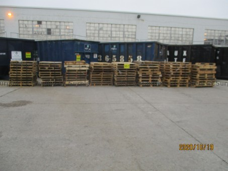 Picture of Used Wooden Skids