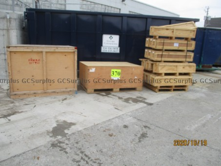 Picture of Used Wooden Crates