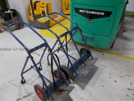 Picture of Lot of 2 Cylinder Carts
