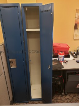 Picture of Metal Lockers