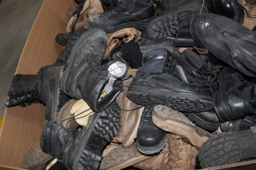Picture of Lot of Scrap Leather Boots