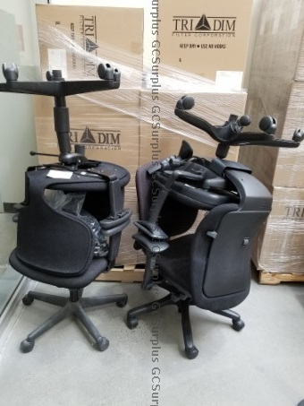 Picture of Office Chairs on Casters