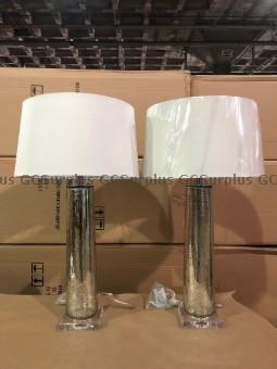 Photo de Paire de lampes de table Bowri