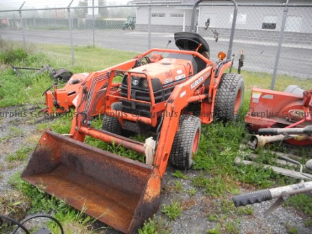 Photo de Tracteur Kubota LA302 - vendu