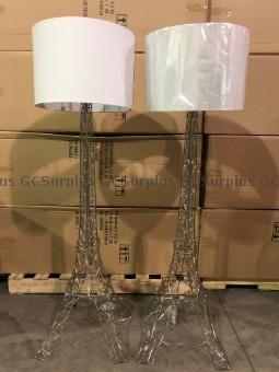 Photo de Paire de lampadaires en forme