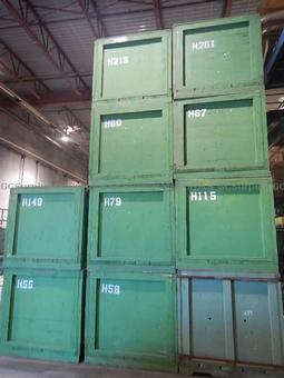 Picture of Large Wooden Storage Boxes