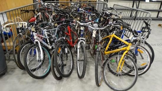 Picture of Assorted Bicycles #2