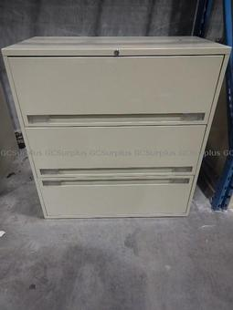 Picture of Three Drawer Filing Cabinet