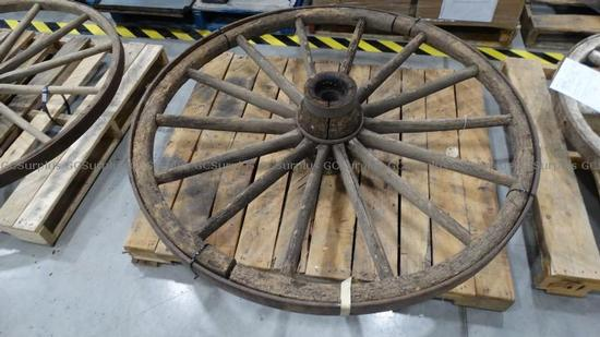 Picture of Wagon Wheel - Museum Props