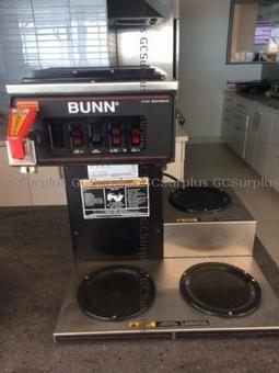 Picture of Bunn CWTF-15-3 3-Burner Coffee