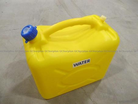 Picture of Plastic Water Containers