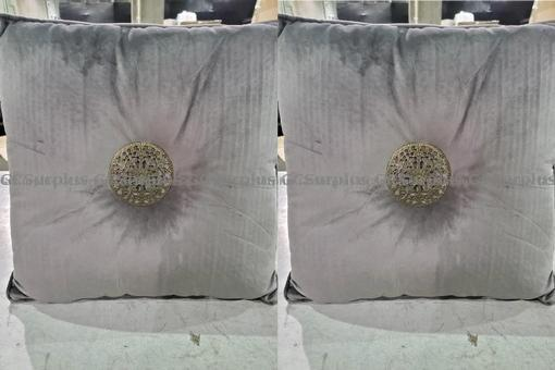 Picture of Set of 2 Bombay Platinum Velve