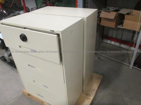 Picture of Lateral Filing Cabinets w/ Com